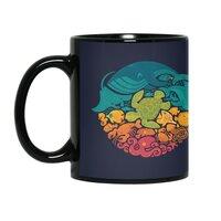 Aquatic Rainbow - black-mug - small view