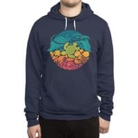 Aquatic Rainbow - hoody - small view