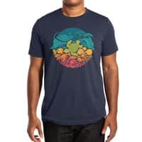 Aquatic Rainbow - mens-extra-soft-tee - small view