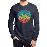 Aquatic Rainbow - mens-long-sleeve-tee - small view