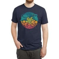 Aquatic Rainbow - mens-triblend-tee - small view