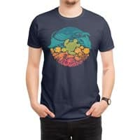 Aquatic Rainbow - mens-regular-tee - small view