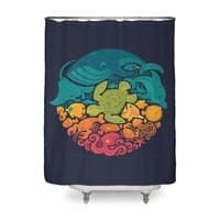 Aquatic Rainbow - shower-curtain - small view