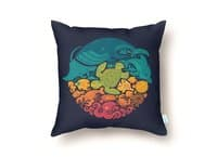 Aquatic Rainbow - throw-pillow - small view