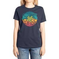 Aquatic Rainbow - womens-extra-soft-tee - small view