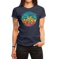 Aquatic Rainbow - womens-regular-tee - small view