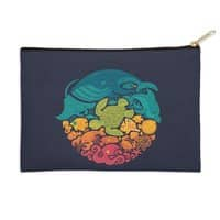 Aquatic Rainbow - zip-pouch - small view