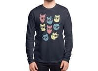 Cool Cats - mens-long-sleeve-tee - small view