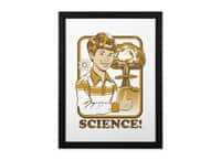 Science! - black-vertical-framed-print - small view