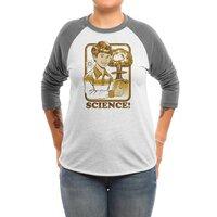 Science! - triblend-34-sleeve-raglan-tee - small view