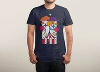 Big Top Drama - mens-triblend-tee - small view
