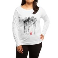 Into the Woods - womens-long-sleeve-terry-scoop - small view