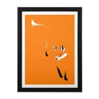 Foxy - black-vertical-framed-print - small view