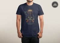 Freaky Tiki - mens-triblend-tee - small view