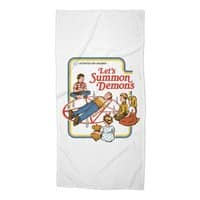 Let's Summon Demons - beach-towel - small view