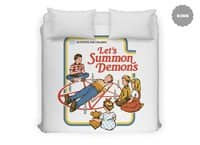 Let's Summon Demons - duvet-cover - small view