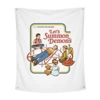 Let's Summon Demons - indoor-wall-tapestry-vertical - small view
