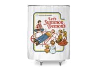 Let's Summon Demons - shower-curtain - small view