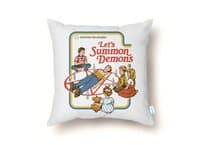 Let's Summon Demons - throw-pillow - small view