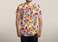 I feel like dancing :) - mens-sublimated-tee - small view