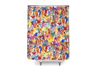 I feel like dancing :) - shower-curtain - small view