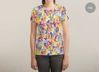 I feel like dancing :) - womens-sublimated-triblend-tee - small view