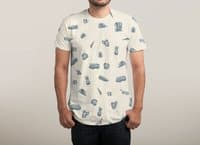 Sur la Plage - mens-sublimated-tee - small view