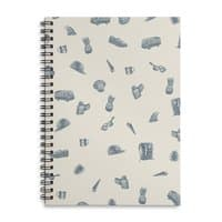 Sur la Plage - spiral-notebook - small view
