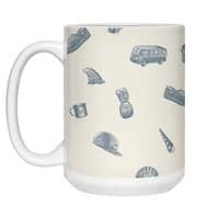 Sur la Plage - white-mug - small view