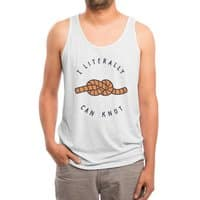 Can Knot - mens-triblend-tank - small view