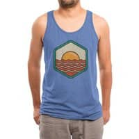 BREAKFAST IN SHORE - mens-triblend-tank - small view