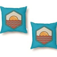 BREAKFAST IN SHORE - throw-pillow - small view