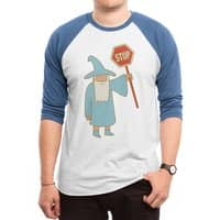 All Shall Stop - triblend-34-sleeve-raglan-tee - small view