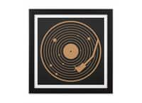 The Vinyl System - black-square-framed-print - small view