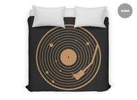 The Vinyl System - duvet-cover - small view