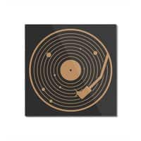 The Vinyl System - square-mounted-acrylic-print - small view