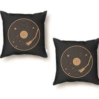 The Vinyl System - throw-pillow - small view