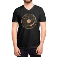 The Vinyl System - vneck - small view
