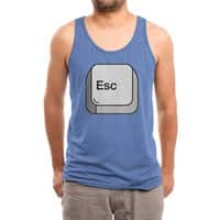 Escape - mens-triblend-tank - small view