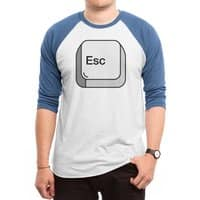 Escape - triblend-34-sleeve-raglan-tee - small view