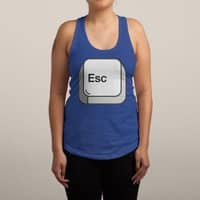 Escape - womens-racerback-tank - small view