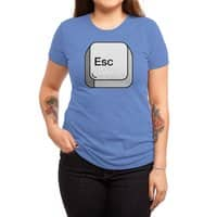 Escape - womens-triblend-tee - small view