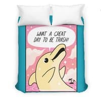 Trash Dolphin - duvet-cover - small view