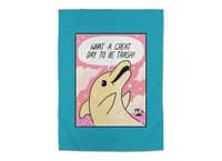 Trash Dolphin - rug - small view