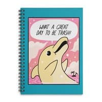 Trash Dolphin - spiral-notebook - small view