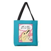 Trash Dolphin - tote-bag - small view