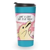 Trash Dolphin - travel-mug - small view