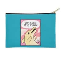 Trash Dolphin - zip-pouch - small view