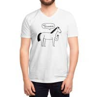 Hi Horse - vneck - small view