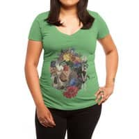 4EVR - womens-deep-v-neck - small view